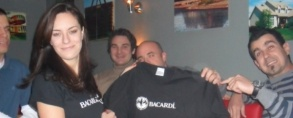 Bacardi party @ Kucha bar