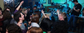 The Night Express band u caffe baru Merikane