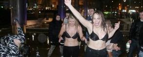 Nova godina - London: Pogledajte ulicu Srama 2012!